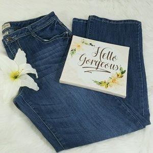 Earl Blue Boot Cut Jeans Women's Size 16
